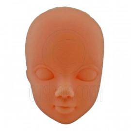 Natural Skin OOAK 1/6 Scale Nude Doll Head Parts Repair Practice Makeup