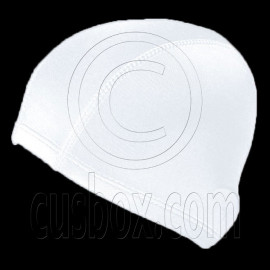 Light Elastane Swimming Cap (WHITE)