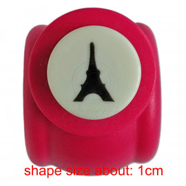 Paris Eiffel Tower Travel Paper Edge Craft Punch Scrapbooking Die Cut Cutter 1cm