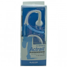 Blue 3.5mm Flex Clip Sports Earhook Headphones 4 iPod