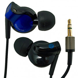 Blue 3.5mm In-Ear Stereo Long Headphones 4 Apple iPod