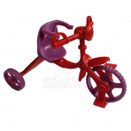Tricycle Trike Bike 1:6 Scale for Barbie's Kelly Daughter Doll's House Miniature