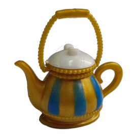 Gold Teapot Tea Pot 1:6 Scale for Barbie Monster High Doll's House Miniature