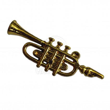 Gold Musical Instrument Cornet 1:6 Barbie Monster High Doll's House Miniature