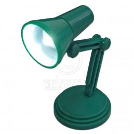 Flexible Neck Working LED Table Lamp Light 1:6 Scale Barbie Monster High Dolls[Green]
