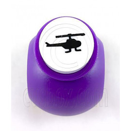 Helicopter Paper Shaper Stamp Punch Scrapbooking