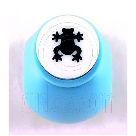 Frog Paper Shaper Stamp Punch Scrap Scrapbooking