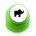 Elephant Forest Paper Craft Punch Scrapbooking