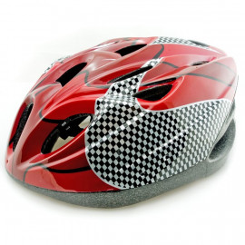 Red Cycling Bike Bicycle Safety Helmet 54-62cm Uni-Fit
