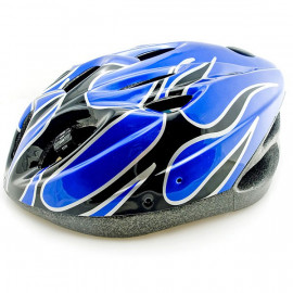 Blue Cycling Bike Bicycle Safety Helmet 54-62cm Uni-Fit