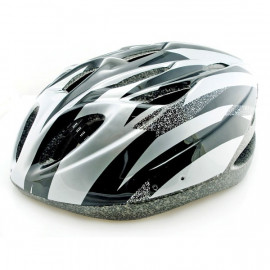 Grey Cycling Bike Bicycle Safety Helmet 54-62cm Uni-Fit