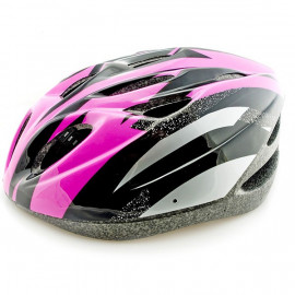 Pink Cycling Bike Bicycle Safety Helmet 54-62cm Uni-Fit