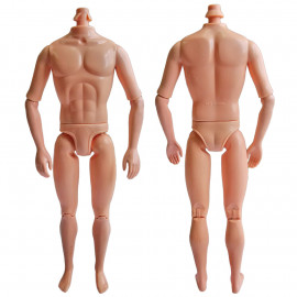 """Naked Nude Raw Body Custom Muscular Men Male 1/6 Scale Action Figure 12"""" Dolls"""