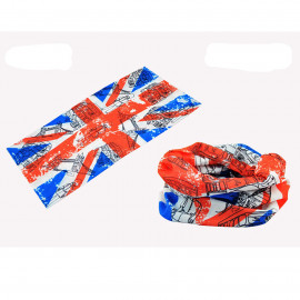 United Kingdom Flag Adult Women's Men's Cycling Hiking Scarf Bandana Bandanna Gear
