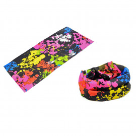 Rainbow Painting Adult Women's Men's Cycling Hiking Scarf Bandana Bandanna Gear