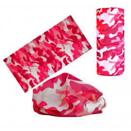 Pink Camouflage Adult Women's Men's Cycling Hiking Scarf Bandana Bandanna Gear