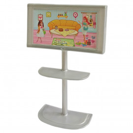 "Tower Wide TV Screen with Stand 1/6 for Barbie Monster High Blythe 12"" Dolls"