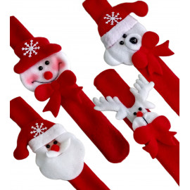 Santa Claus Bear Snowman Deer Christmas Wristband Bracelet Costume Halloween Set