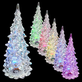LED Changing Color Flashing Glowing Christmas Tree Office Room Bar Pub Light MIB