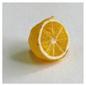 Half of Yellow Lemon Kitchen Food 1/12 Scale Doll's House Dollhouse Miniature