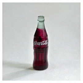 Vintage Style Bottle of Coke Drinks 1/12 Scale Doll's House Dollhouse Miniature
