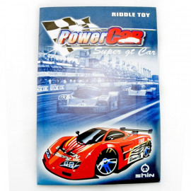 3D Puzzle Jigsaw Riddle Super GT Racing Car DIY Model