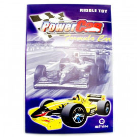 3D Puzzle Jigsaw Riddle F1 Racing Car DIY Model Card