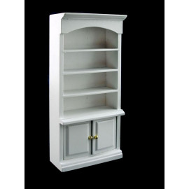 White Wood Bathroom Cabinet Drawers Dollhouse Furniture