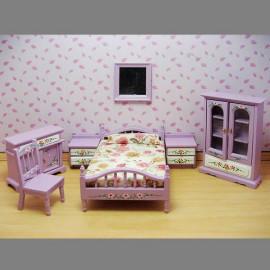 Nursery Rustic Bunk Bed Bunkbed Dollhouse Furniture
