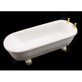 Victorian Bathroom Bathtub Bath Tub Dollhouse Furniture