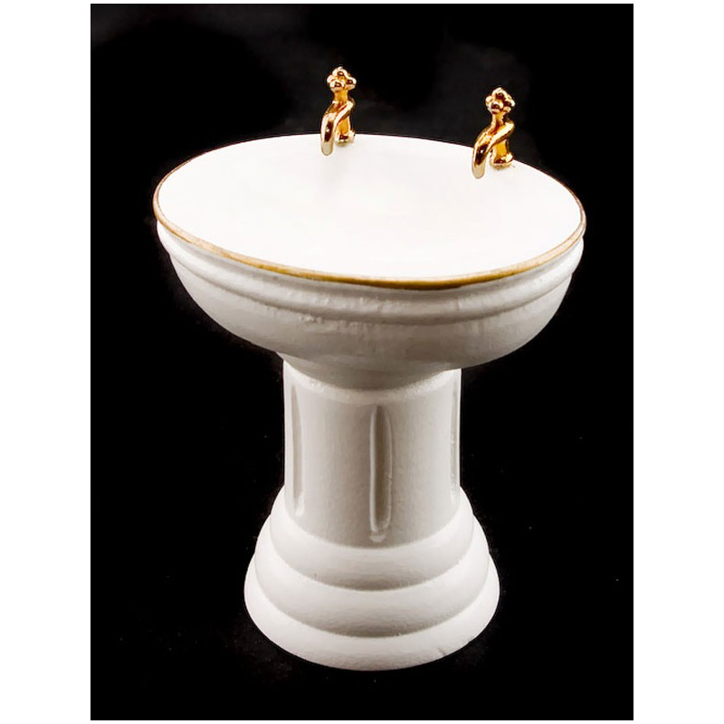 Bathroom Basin Bowls : Victorian Bathroom Bowl Basin Sink Dollhouse Furniture